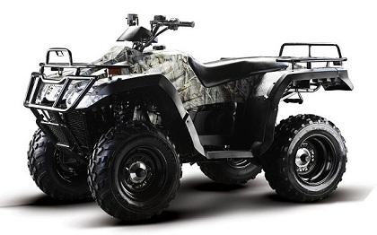 ATV kjøretøy