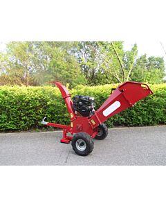 Kraftig flishugger 15 HP Kohler motor ekstra store hjul