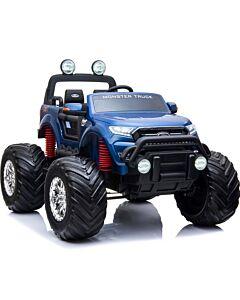 Monster Truck Ford Ranger 12 v elbil blå metallic