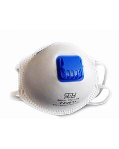 Støvmaske FFP2 med ventil