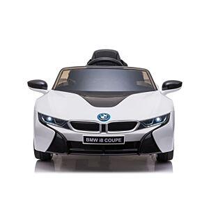 NYE BMW I8 ELEKTRISK BIL TIL BARN EXCLUSIVE 12V , 2,4G FJERNKONTROLL & GUMMIHJUL
