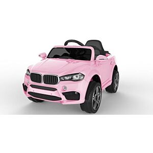 BMW X6 Rosa elektrisk bil for barn
