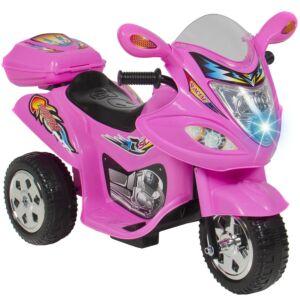EL TRIKE / MOTORSYKKEL TIL BARN ROSA