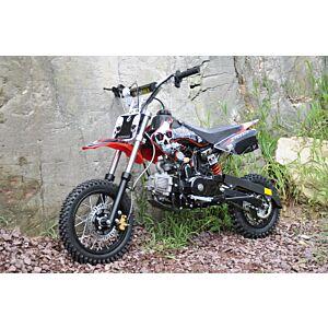 110cc halvautomat motorcrosser elstart