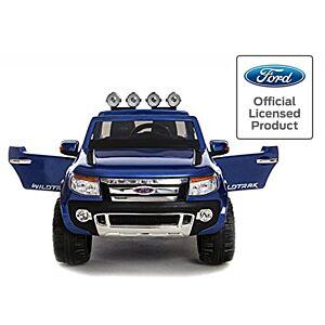 Ford Ranger elektrisk bil til barn fjernkontroll , mp3 spiller & gummihjul